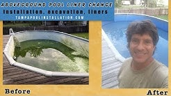Aboveground Pool Liner Replacement Service Tampa 800.457.1622