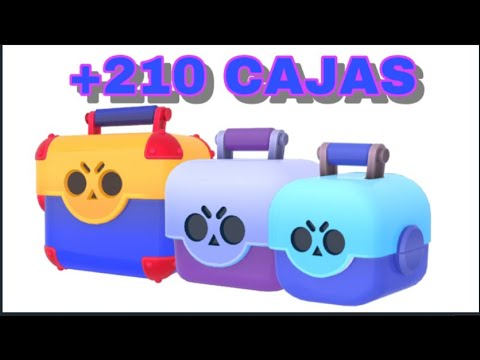 Opening De +210 CAJAS! | Brawl Stars