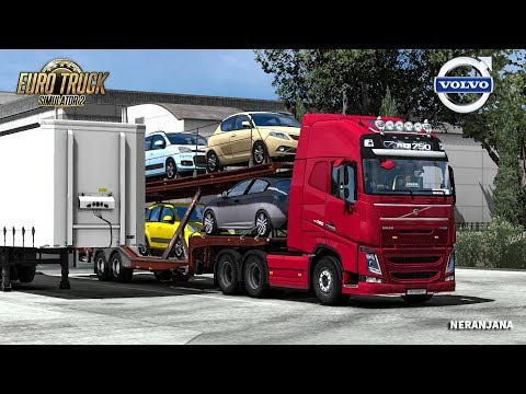 Euro Truck Simulator 2 Volvo FH & FH16 2012 Reworked by Eugene [1.32]