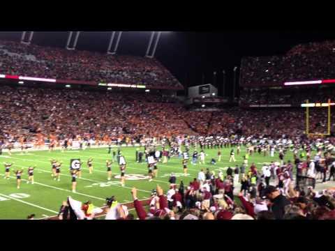USC vs. Clemson - Teams Enter Stadium November 26, 2011