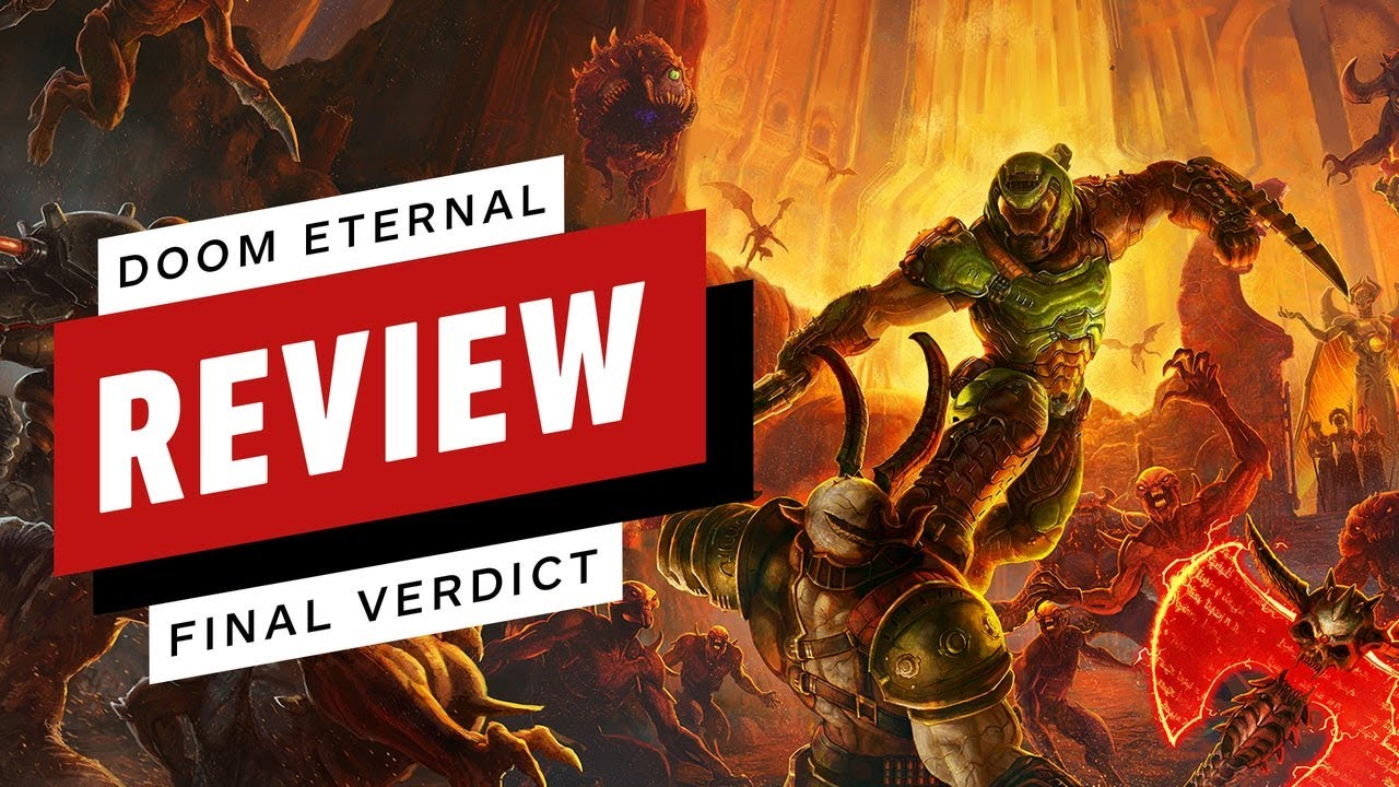 Doom Eternal Final Review (Video Game Video Review)