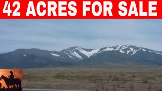 OWNER FINANCED LAND IN NEVADA 42 ACRES FOR SALE