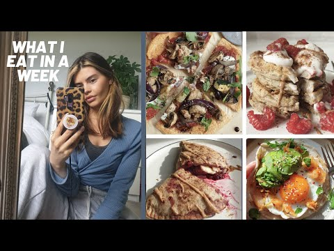 WHAT I EAT IN A WEEK/ tasty and healthy meal ideas