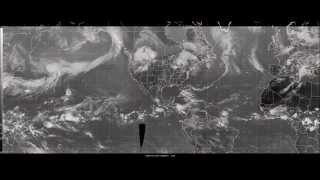 Infrared Satellite Animation over the Unfiied Surface Analysis Area 06/17/14