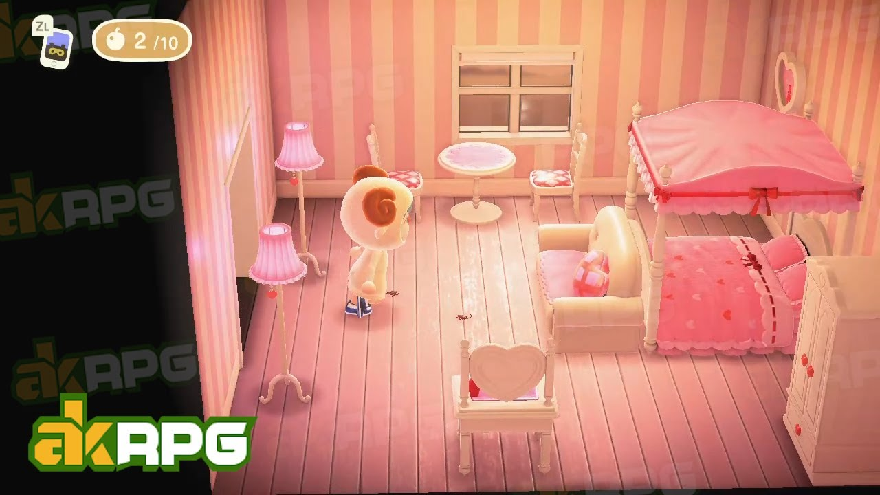 Baby Pink Bedroom For Lovely Sweethearts Best Animal Crossing Bedroom Design Ideas