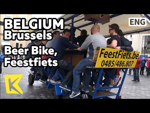 【K】Belgium Travel-Brussels[벨기에 여행-브뤼셀]자전거 카페/Brussels/Bicycle Cafe/European Union Parliament/EU