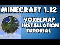 MINECRAFT 1.12: HOW TO INSTALL VOXELMAP (ZAN'S MINIMAP)