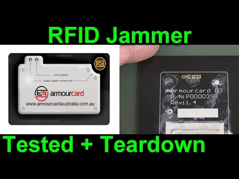 EEVblog #890 - ArmourCard Active RFID Jamming Teardown