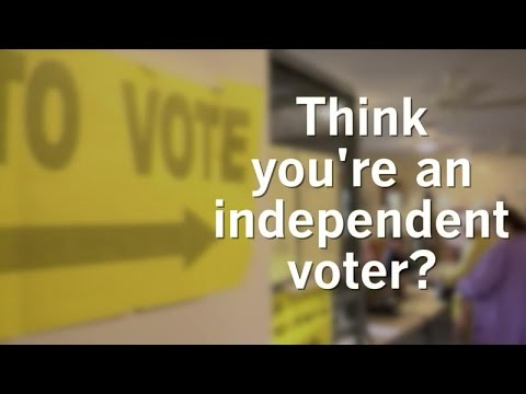 Are you an independent voter?