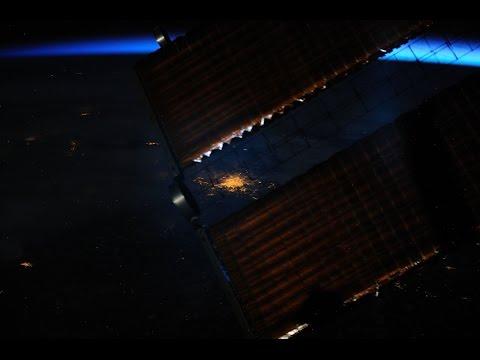 Ночные города России из космоса