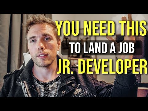 You NEED THIS to get a junior developer job. (DEVELOPER BRAND) #grindreel #skillshare