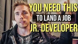 You NEED THIS to get a junior developer job. (DEVELOPER BRAND) #grindreel #skillshare
