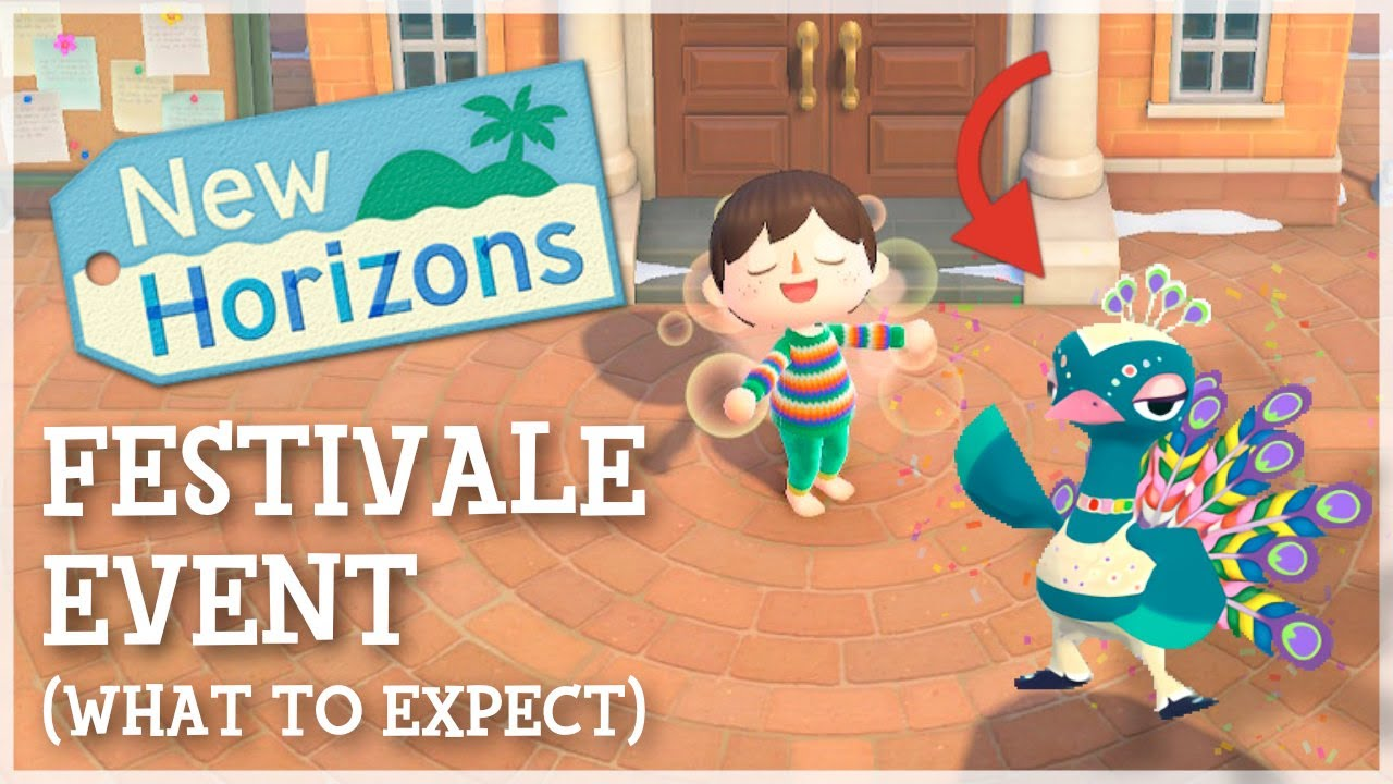 Animal Crossing New Horizons - Festivale Event (What to Expect)
