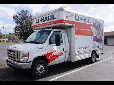 15' U Haul Truck Video Review Rental Box Van Rent Pods How To