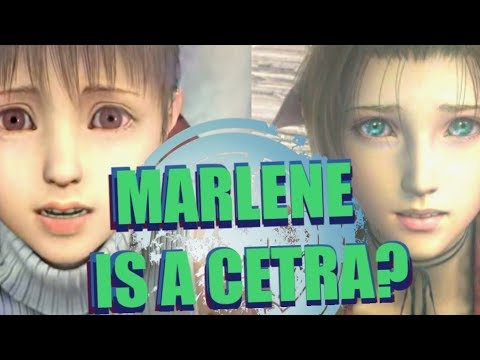 Marlene is a Cetra?   FINAL FANTASY VII / ADVENT CHILDREN STORY THEORY