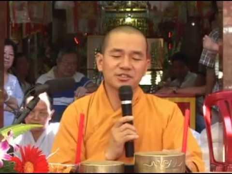 Thầy THÍCH THIỆN XUÂN - Cho thì lấy... tại Chùa Bà Thien Hậu - chợ Cái Vồn
