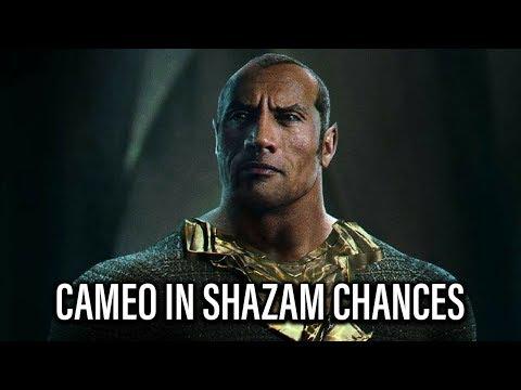 Chances Dwayne Johnson Cameos In SHAZAM! - TJCS Companion Video