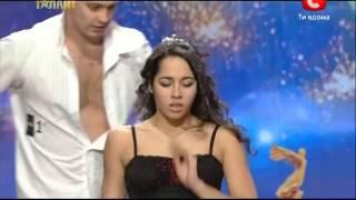 Самый эротичный выступ на УКРАИНА МАЕ ТАЛАНТ Duo Flame