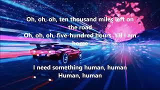 MUSE - Something Human (LYRICS)