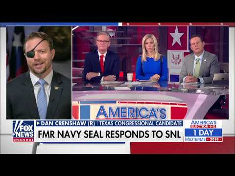 'Why Can't We Just Be Funny Again?': GOP Candidate Crenshaw on 'SNL' Mocking His Wartime Injury