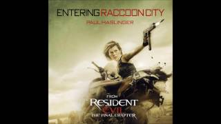 """Paul Haslinger - """"Entering Raccoon City"""" (Resident Evil: The Final Chapter OST)"""