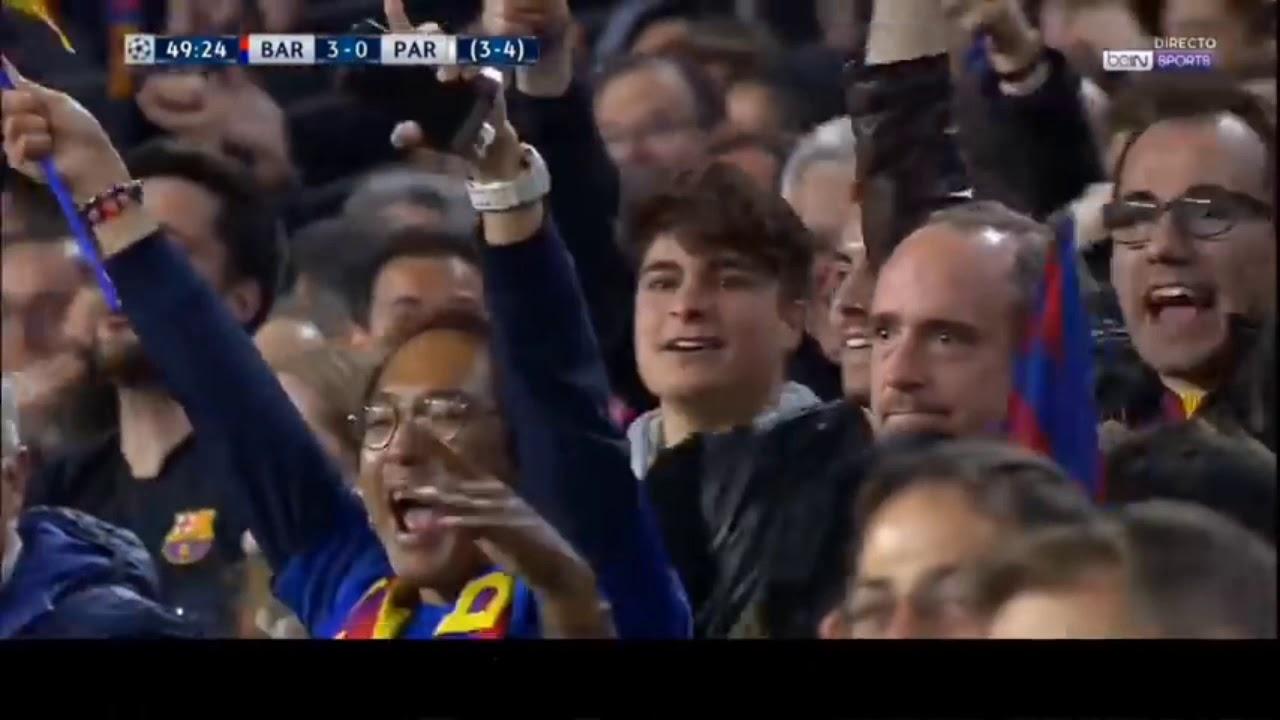 Come back tergila Barcelona vs PSG 6 - 5 - YouTube
