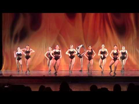 Dance Factory Recital 2017 Showstoppers Jazz  Fever  Michael Buble