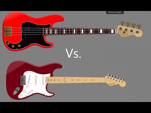 Download Youtube: Whats The Difference Between Guitar and Bass