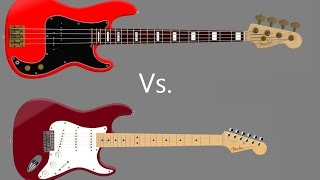 Whats The Difference Between Guitar and Bass