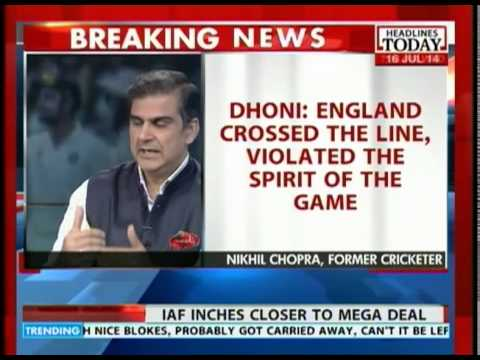 Dhoni: England crossed the line, violated the spirit of the game