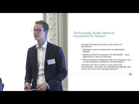 Samuel Engblom: Sweden's tax, employment law and social security system