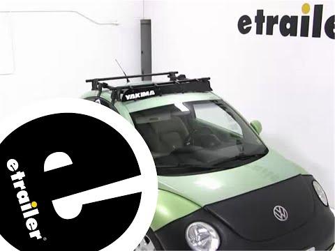 Yakima Roof Rack Fairing Review - 2000 Volkswagen Beetle - etrailer.com