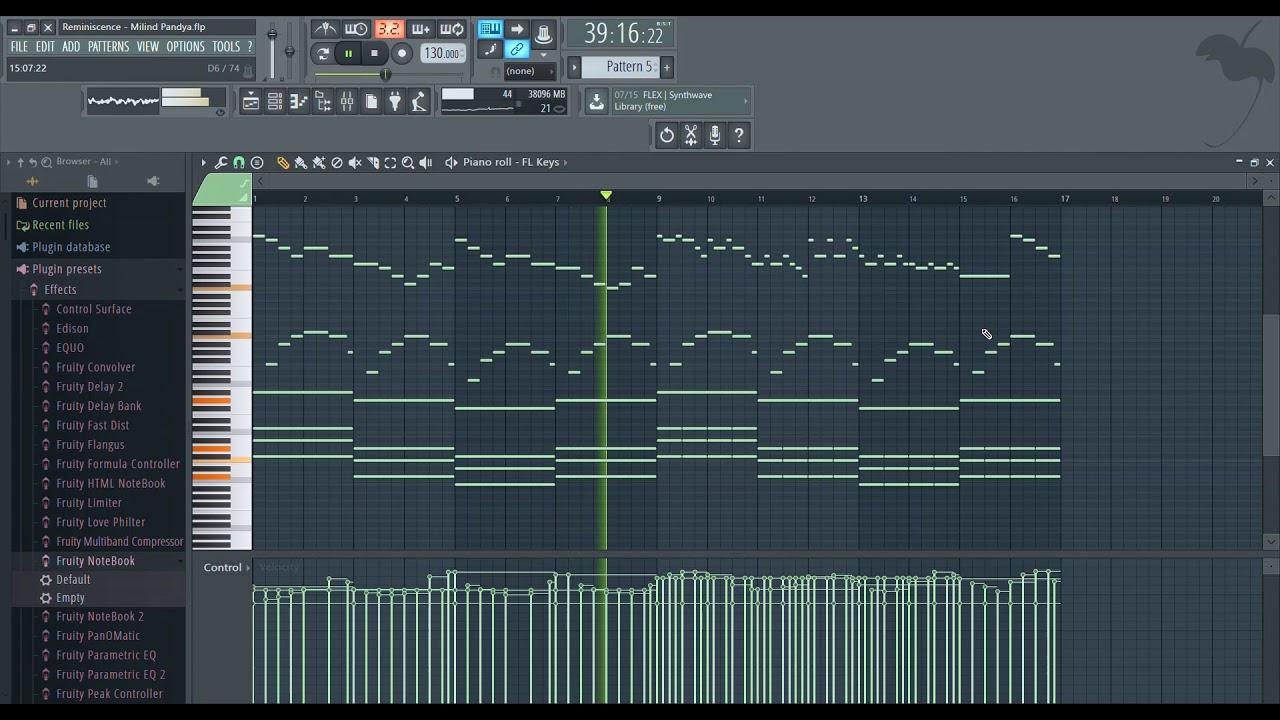 Reminiscence (FL studio) Piano/violin Sad instrumental