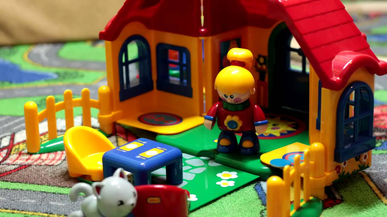 Tolo Toys First Friends House In Action Cutest Family Ever Youtube