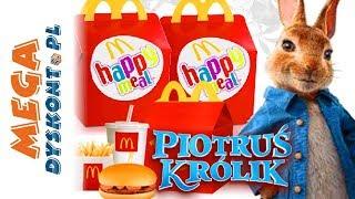 Piotruś Królik • Happy Meal • McDonald's • zabawki filmowe