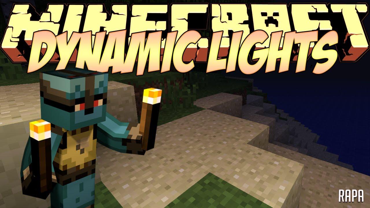 Minecraft Mods Showcase - Dynamic Lights Mod! (1.8) - 1.7.10 - 1.8.2 - 1.12.0 & Minecraft Mods Showcase - Dynamic Lights Mod! (1.8) - 1.7.10 - 1.8 ... azcodes.com