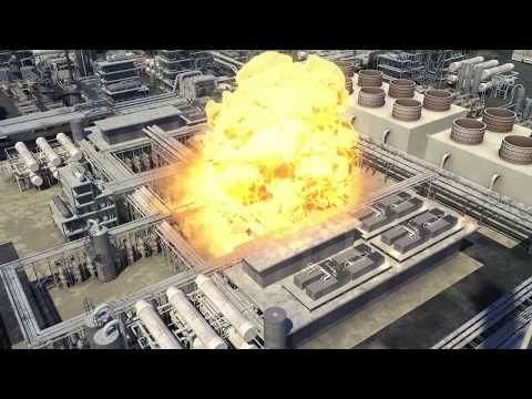 Animated Reenactment and Analysis of Refinery Explosion