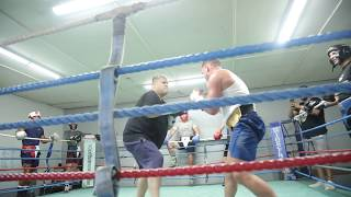 BILLY JOE SAUNDERS IN SPARRING TEAR UP HEAVY D ( HD QUALITY) !!!