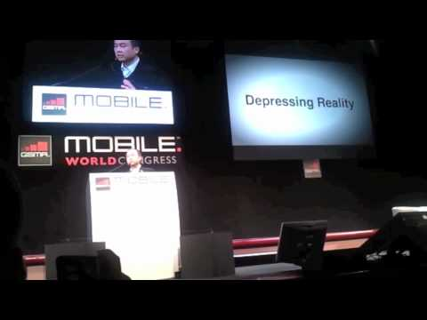 CEO of Softbank Masayoshi Son's keynote at MWC - Part 1