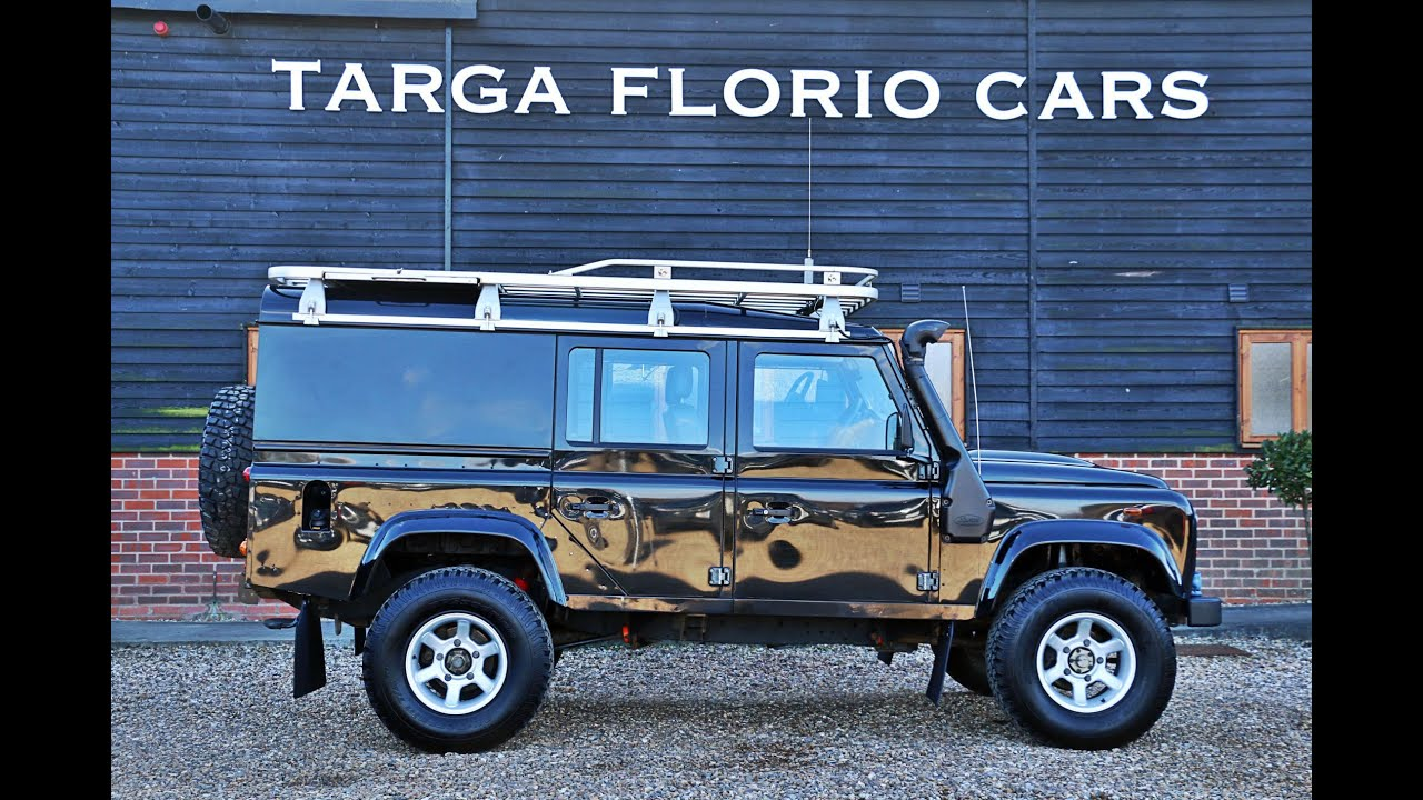 Land Rover Defender 110 County Station Wagon TDCI 2 4 Litre