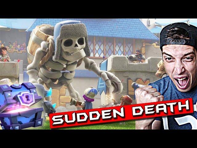 СМЧ! - Sudden Death Challenge - Clash Royale