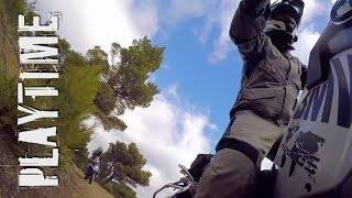 more playtime & a couple falls - BMW 2016 R1200GS Adventure