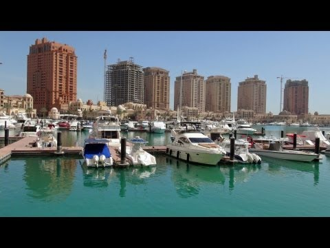 The Pearl - Spectacular Porto Arabia Doha / Qatar HD