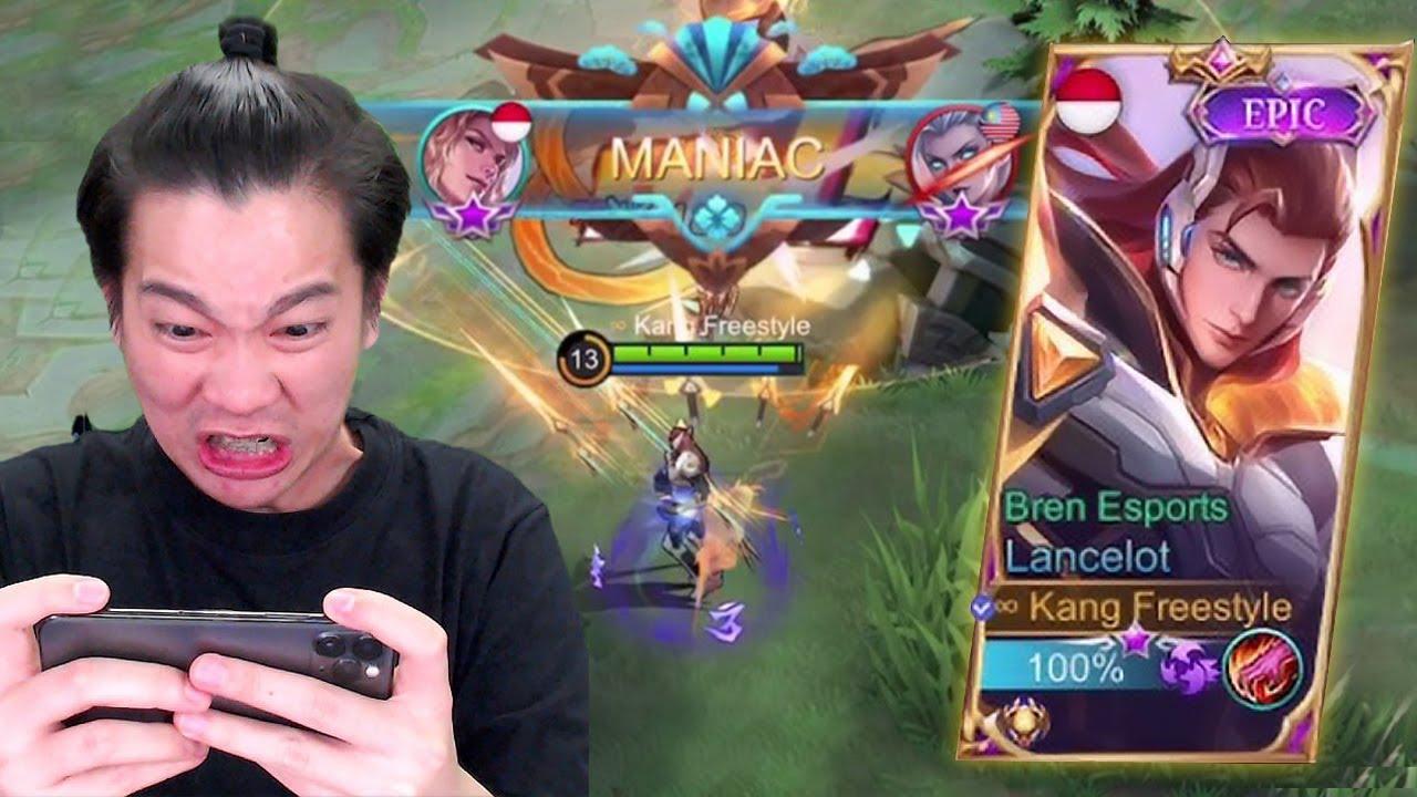 Review Skin Lancelot BREN, Langsung Gw Kasih SAVAGE Lah! - Mobile Legends