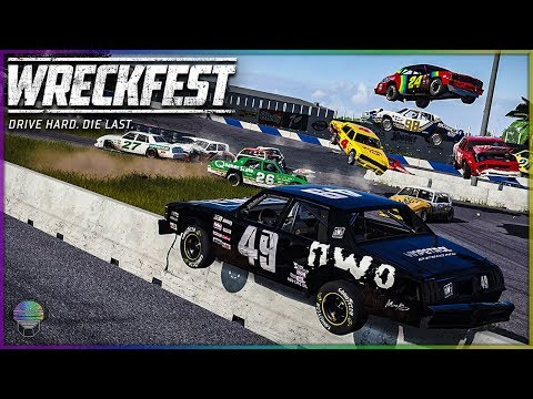Taking Out ALL The Competition!   Wreckfest   NASCAR Legends