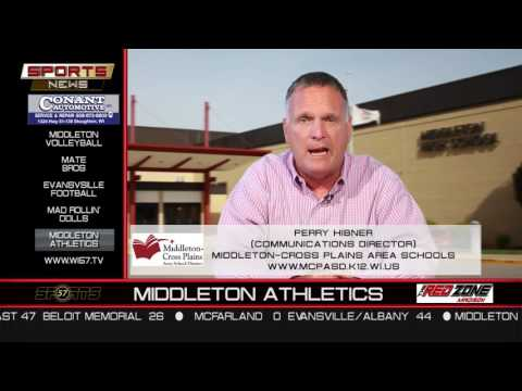The Sports News | Perry Hibner | Middleton Athletics | 9/12/16