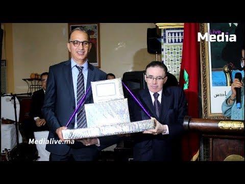 المحكمة الابتدائية بالمحمدية تكرم منير المنتصر بالله الرئيس السابق للمحكمة