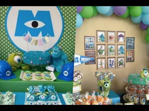 Decoración de fiestas Monster Inc.