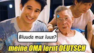 Meine 90-Jährige OMA lernt DEUTSCH (