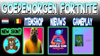 GOOD MORNING FORTNITE | ITEM SHOP May 26th | * NEW * DOGGO Skin (TEN) Fortnite News Netherlands